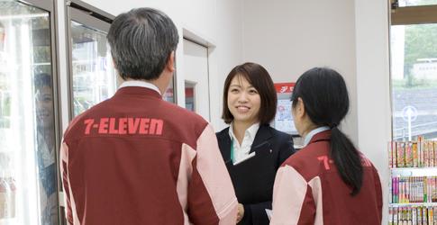 OFCの仕事 | 新卒採用情報 | セブン‐イレブン・ジャパン